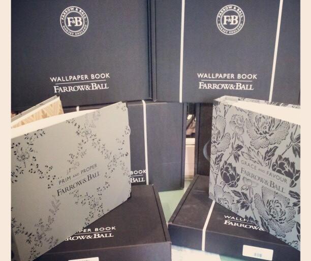Wallpaper Books from Farrow & Ball