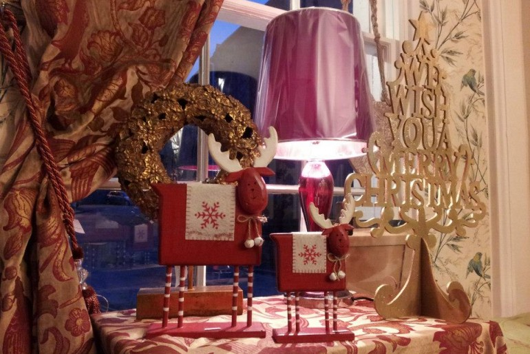 Christmas 2012 at Seymours Interiors