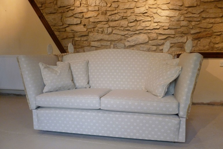 Knole Drop Arm Sofa SOLD!