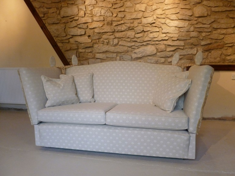 Knole Drop Arm Sofa SOLD!