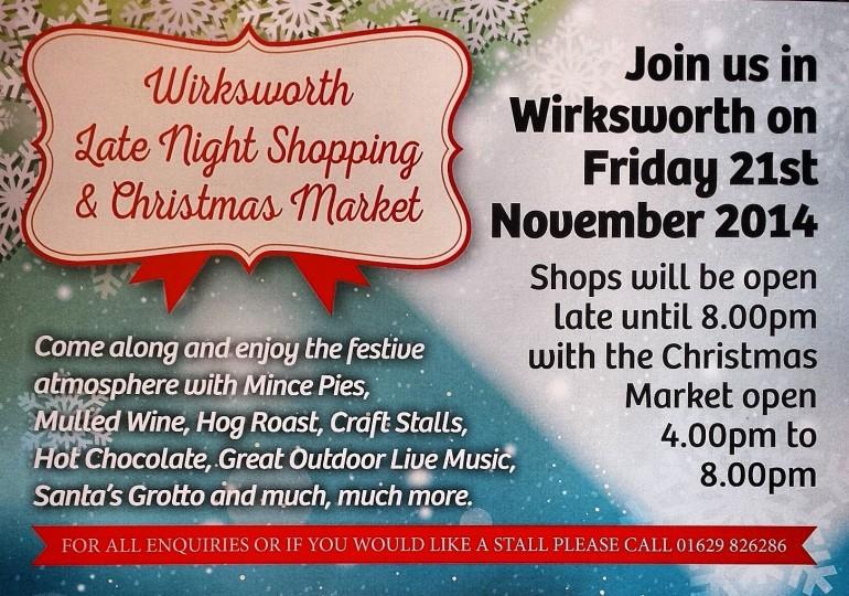Wirksworth Christmas Late Night Shopping!