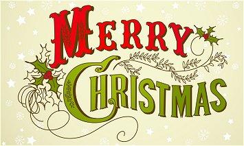 Closed At Christmas!