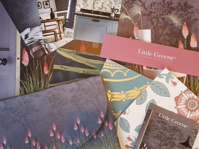 New Little Greene Wallpapers for 2017!
